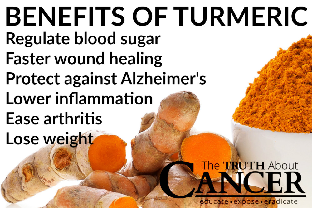 The Tremendous Benefits of Turmeric for Cancer…